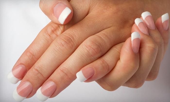 Essence of Nails Salon - Burnsville: Lickety Split Mani-Pedi, Minx Mani-Pedi, or Heaven-Sent Pedi at Essence of Nails Salon in Burnsville (Up to 55% Off)
