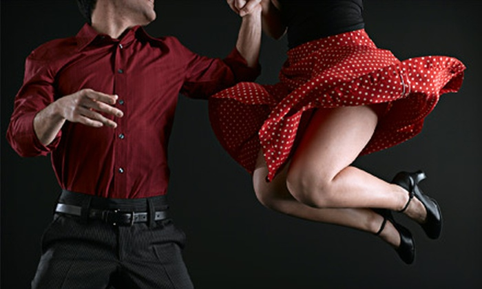 Rhythm Dance Company - Nob Hill: One Swing-Dance Class or One Month of Weekly Swing-Dance Classes at Rhythm Dance Company (Up to 60% Off)