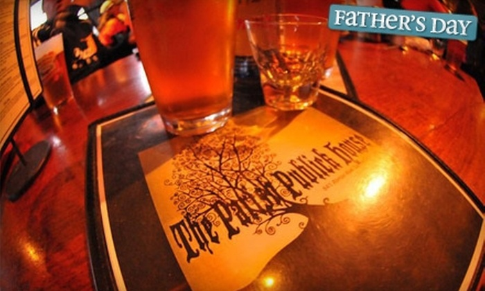 Parish Publick House - Westside: $10 for $20 Worth of Pub Fare and Drinks at Parish Publick House