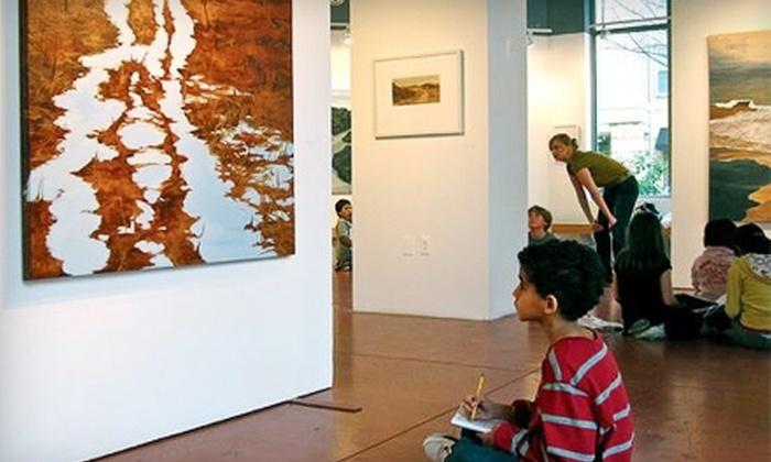 Greater Reston Art Center - Reston: $50 for One-Year Family Membership and Three Family Art Buckets at Greater Reston Art Center