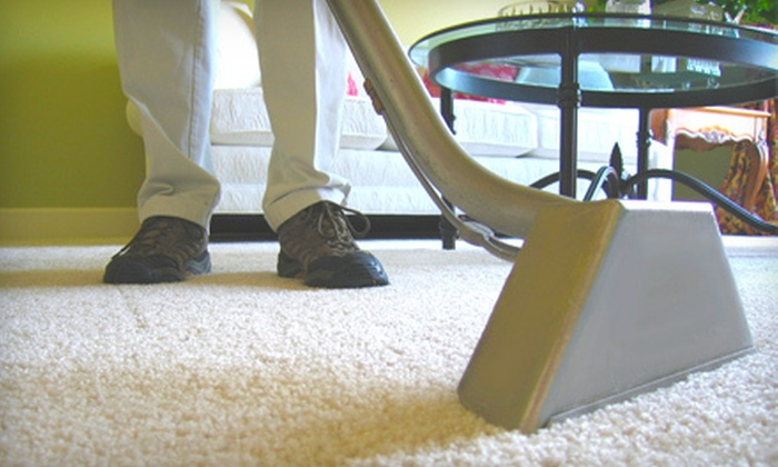 Howard's Steam Clean - Mason: Two or Four Rooms of Carpet Cleaning with Pre-Spray Spot Treatment and Deodorizer from Howard's Steam Clean (Up to 69% Off)