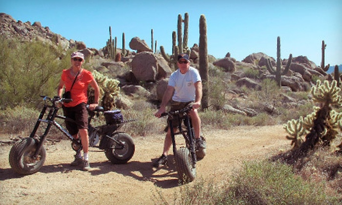 Journey Arizona Tours - Cocomo Joe's: $119 for a Three-Hour Electric-Bike Tour of Scenic Sonoran Desert for Two from Journey Arizona Tours ($238 Value)