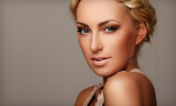 Vanity Chicago - York: 5 or 10 Full-Body Airbrush Tans at Vanity Chicago (Up to 83% Off)