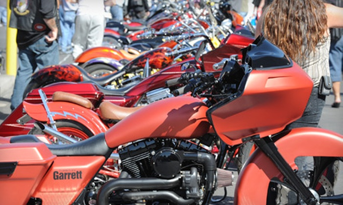 Las Vegas BikeFest - Downtown: $15 for Two Tickets to Las Vegas BikeFest ($30 Value)