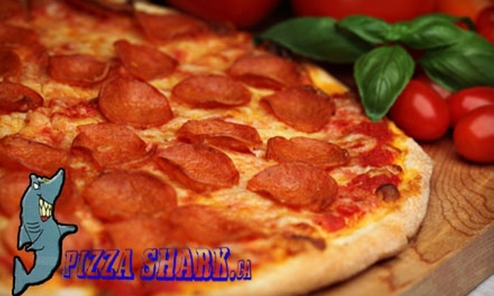 Pizza Shark - Centretown - Downtown: $10 for $20 Worth of Pizza and More at Pizza Shark