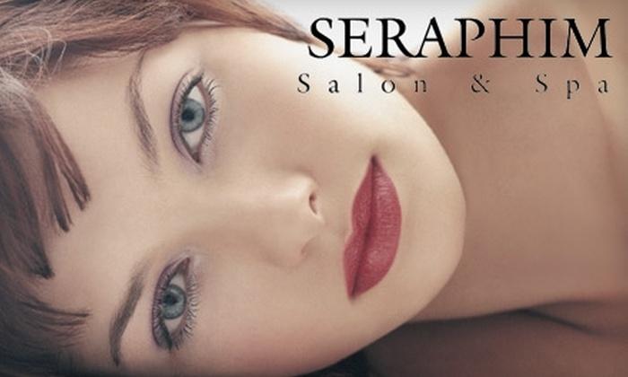 Seraphim Salon & Spa - Nashville-Davidson metropolitan government (balance): $40 for 60-Minute Aveda Elemental Nature Facial or Massage ($80 Value) or $69 for a Women's Haircut and Highlights ($145 Value) at Seraphim Salon & Spa