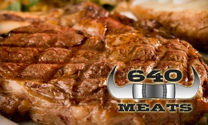 640 Meats - Loves Park: $5 for $10 Worth of Gourmet Groceries at 640 Meats