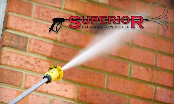 Superior Cleaning Service - Birmingham: $40 for $80 Worth of Window Cleaning, Gutter Cleaning, or Pressure Washing from Superior Cleaning Service