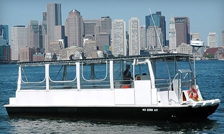 Boston Harbor Cruise for Two or Four from Boston Green Cruises (Up to 52% Off)
