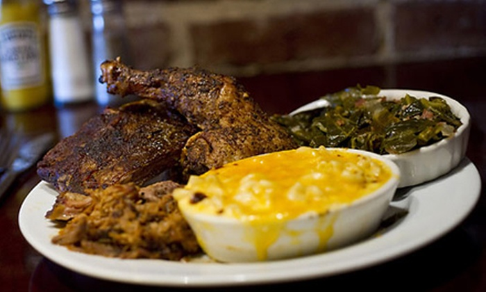 Belmont House of Smoke - West 21st Street: Southern Food or All-You-Can-Eat Ribs at Belmont House of Smoke (Up to Half Off). Four Options Available.
