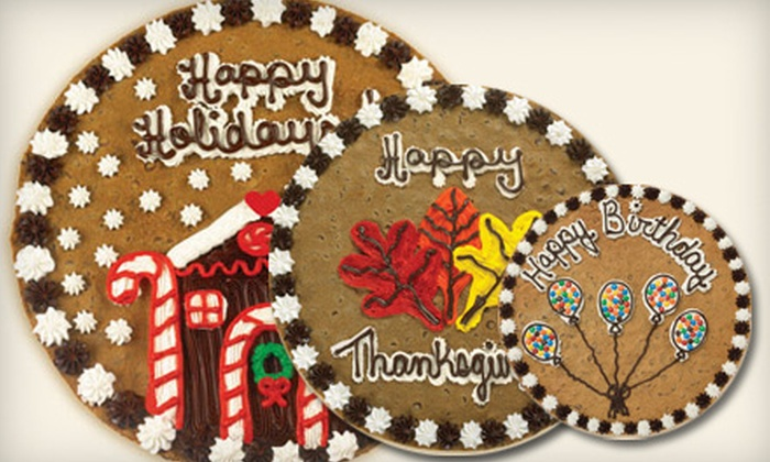 Great American Cookies - Ridgeland: $14 for a 16-Inch Round Cookie Cake from Great American Cookies ($28.99 Value)