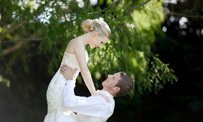 From $699 for a Wedding Photography Package and DVD of High Res Images with Lydia Ashley Photography (From $1,600 Value)