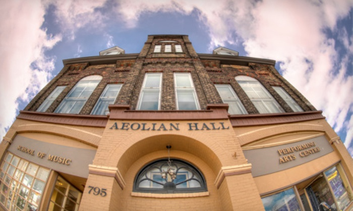 The Aeolian - East London: $12 for Film Showcase Evening for Two with Wine and Cheese at Aeolian Hall ($31 Value)