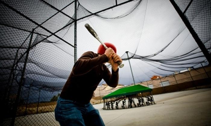 Laguna Beach Batting Cages - Laguna Beach: Laguna Beach Batting Cage Tokens, Hitting Lessons, or Cage Rental at Laguna Beach Batting Cages. Three Options Available.