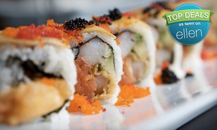 Sushi Rock OH - Multiple Locations: Prime Steaks and Award-Winning Sushi for Dinner or Lunch at Sushi Rock (Half Off)