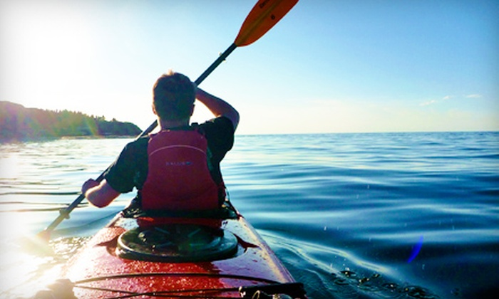 Coastal Spirit Expeditions - River John: Half-Day Guided Sea-Kayak Adventure Tour, Kayak Rental, or Standup Paddleboard Rental from Coastal Spirit Expeditions