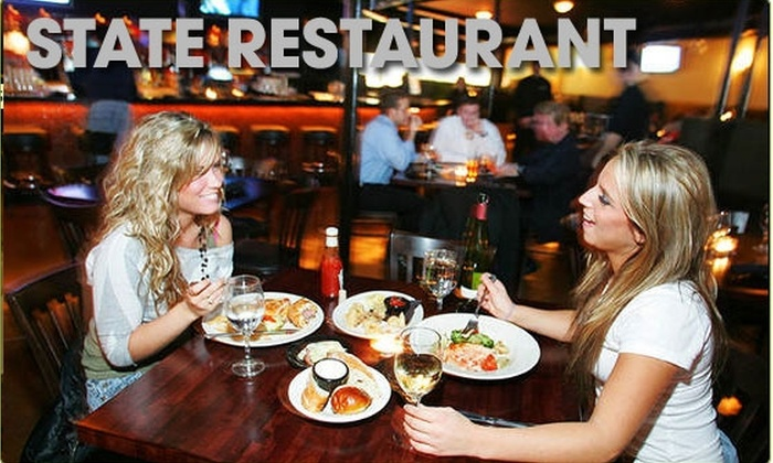 State Restaurant and Cafe - DePaul: $15 for a $35 Groupon to State Restaurant