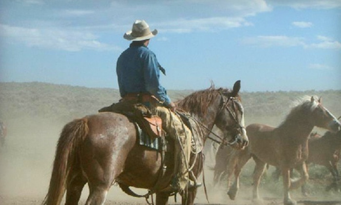 Sombrero Ranches - Estes Park: One- or Two-Hour Horseback Ride for Two or Four at Sombrero Ranches in Estes Park