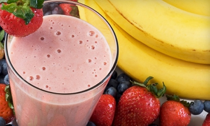 Juice Stop - Multiple Locations: $5 for $10 Worth of Smoothies, Healthy Snacks, and More at Juice Stop