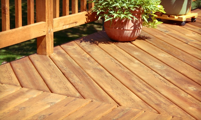 Superhero Clean - Chattanooga: Power Washing for a Deck, Driveway, or House from Superhero Clean (Up to 55% Off)