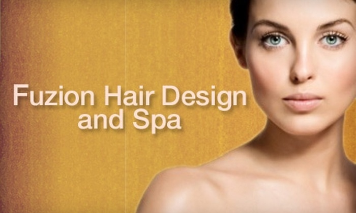 Fuzion Hair Design & Spa - Waxhaw: $39 for a Microdermabrasion or a Five-Layer Facelift at Fuzion Hair Design & Spa in Waxhaw ($80 Value)