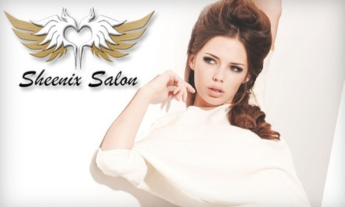 Sheenix Salon - Beach HIll: $30 for a Men's or Women's Haircut at Sheenix Salon