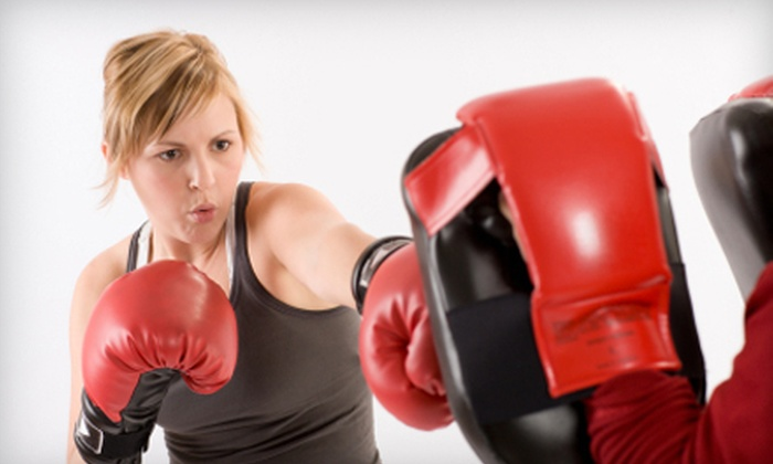 Round 1 Boxing - The Lakes/Country Club: 5 One-On-One Boxing Training Sessions or 10 Group Boxing &  Conditioning Classes at Round 1 Boxing