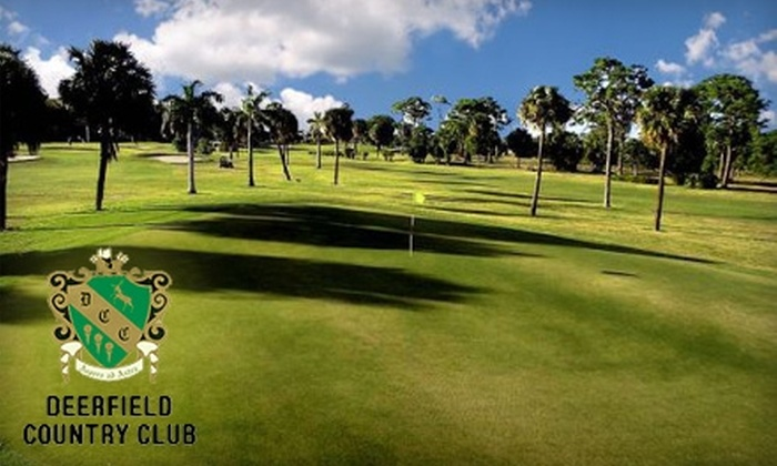Deerfield Country Club - Deerfield Beach: $35 for 18 Holes of Golf and Cart Rental for Two Golfers at Deerfield Country Club ($70 Value)