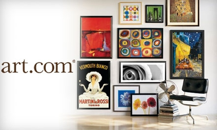 art.com: $25 for $50 Worth of Wall Decor, Including Framed Art, Prints, and Posters at Art.com