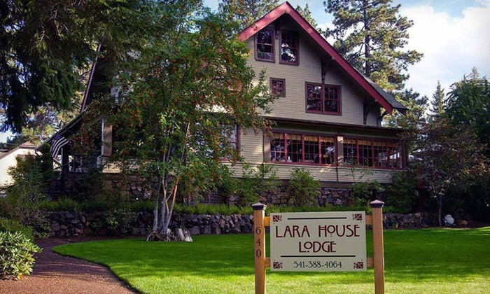 Lara House Lodge - Old Bend: $289 for a Two-Night Stay in a Guest Room at Lara House Lodge in Bend, OR (Up to $578 Value)