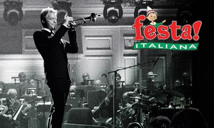 Festa Italiana - Historic Third Ward: $20 Admission to Festa Italiana on Friday, July 16, Plus One Ticket to the Chris Botti Concert at 7:30 p.m. ($52 Value)