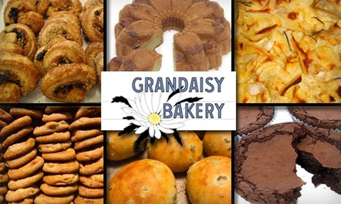 Grandaisy Bakery - Upper West Side: $7 for $15 Worth of Fresh-Baked Fare at Grandaisy Bakery. Buy Here for the Upper West Side Location. See Below for Additional Locations.