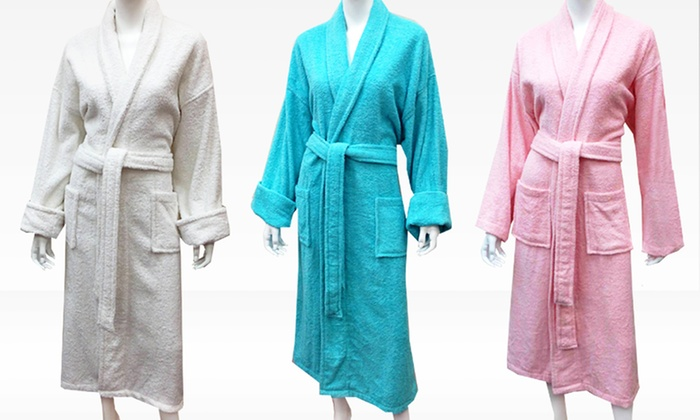 Women's Terry Spa Robes: Women's Terry-Loop Spa Robes. Multiple Options Available. Free Shipping and Returns.