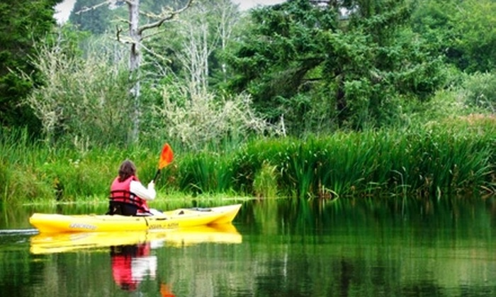 NorthWest EcoExcursions - Long View: $40 for a Half-Day Kayaking Trip from NorthWest EcoExcursions in Longview (Up to $85 Value)