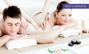 Sparadise: Hot-Stone Aromatherapy Massage Package for One or Two at Sparadise (Up to 66% Off). Four Options Available.