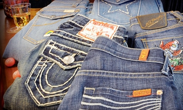 Gloss - Monument: $25 for $50 Worth of Premium Apparel or $50 for $100 Worth of Denim at Gloss in Monument