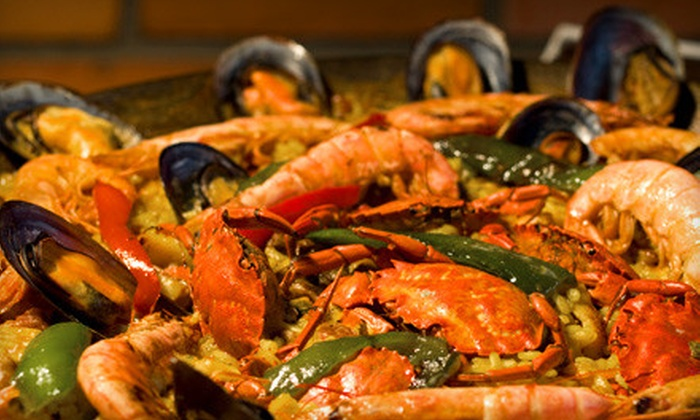 Paella Time - San Jose: Catered Paella Meal with an Onsite Chef, Sangria, and Tapas for 20 or 40 from Paella Time (Up to 60% Off)