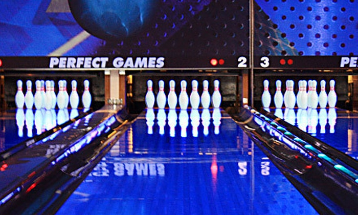 Perfect Games - Ames: $48 for Two Hours of Bowling, Laser Tag, Arcade Games, and Pizza at Perfect Games in Ames (Up to $117.47 Value)