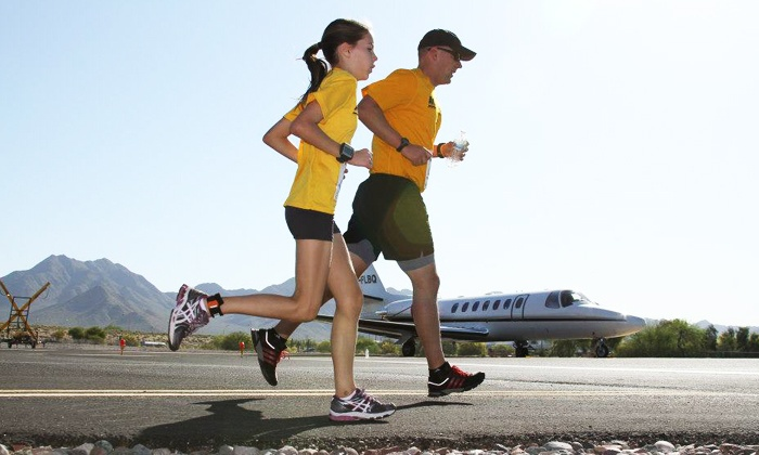 Run the Runway - Scottsdale Airport: Run The Runway 5K or 10K Registration for One (Up to 56% Off)