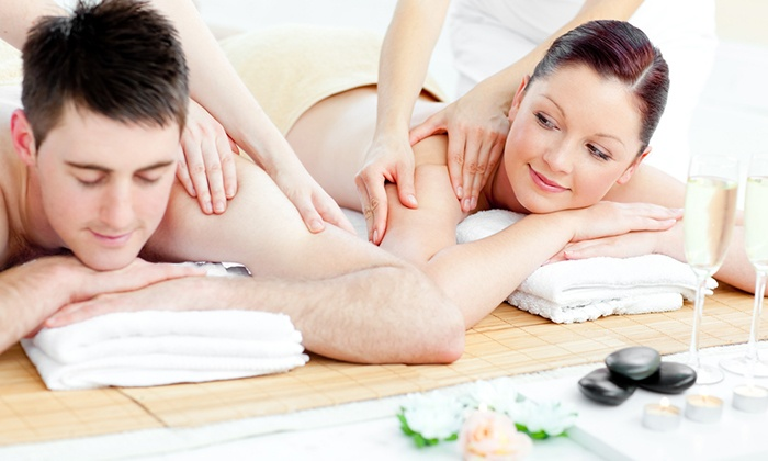 Midpoint Wellness Center - Glendale: 60-Minute Swedish or Deep-Tissue Couples Massage at Midpoint Wellness Center (Up to 51% Off)