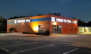 Tires To You: Two or Four Tires at Tires To You (Up to 45% Off)