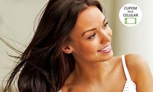 Claudio Dinoah Cabelo & Maquiagem: Claudio Dinoah Cabelo & Maquiagem – Asa Norte: escova inteligente ou selagem Inoar + modeladora (com opção de corte)