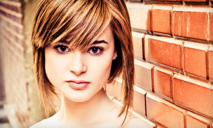 Salon Rouge - Loring Park: Haircut and Conditioning or Haircut and Color Packages at Salon Rouge (Up to 56% Off)