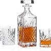 Dublin 5-Piece Crystal Whiskey Decanter Set