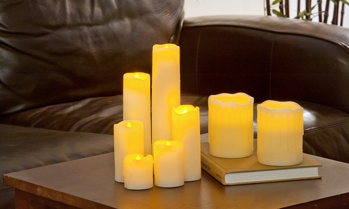 WBM International Flameless Candle Sets: Flameless Candle Sets (Up to 70% Off). Four Sets Available. Free Shipping on Purchases of $15 or More. Free Returns.