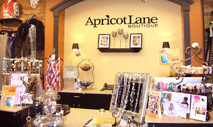 Apricot Lane  - Oyster Point,Village Green: $25 for $60 Worth of Boutique Apparel and Accessories at Apricot Lane in Newport News