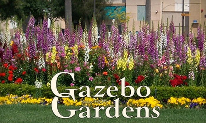 Gazebo Gardens - Fresno High-Roeding: $10 for $20 Worth of Plants and Flowers at Gazebo Gardens