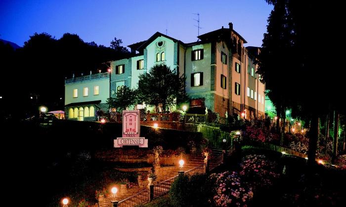SPA Villa Ortensie - Terme di Sant'Omobono - Sant'Omobono Terme: Ingresso Spa della durata di 4 ore per 2 persone alla Spa Villa Ortensie - Terme di Sant'Omobono (sconto 45%)