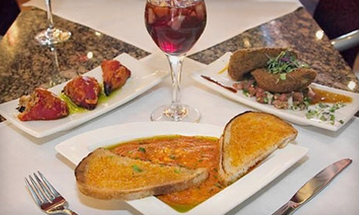 La Española Tapas - Berwyn: Tapas Meal with Sangria and Dessert for Two or Four at La Española Tapas in Berwyn (Up to 54% Off)