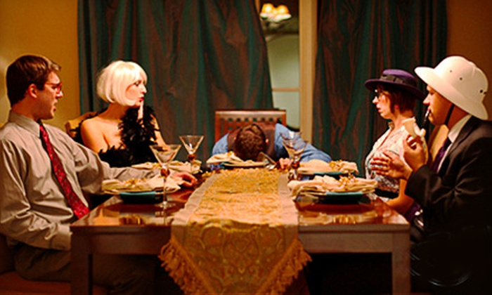 The Murder Mystery Company - Mid-Wilshire: Murder-Mystery Dinner Show for One or Two from The Murder Mystery Company in Los Angeles
